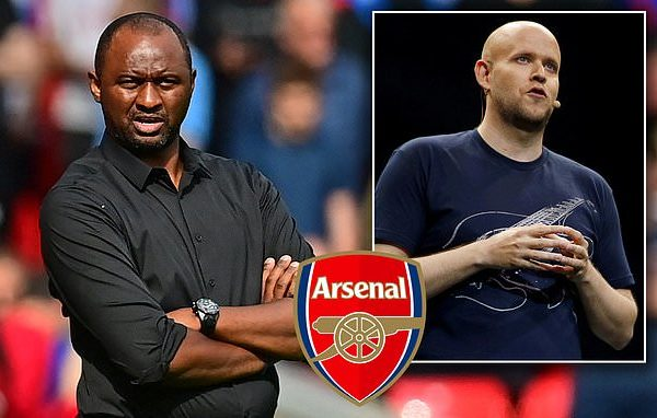 Palace boss Vieira gears up for emotional return to Arsenal