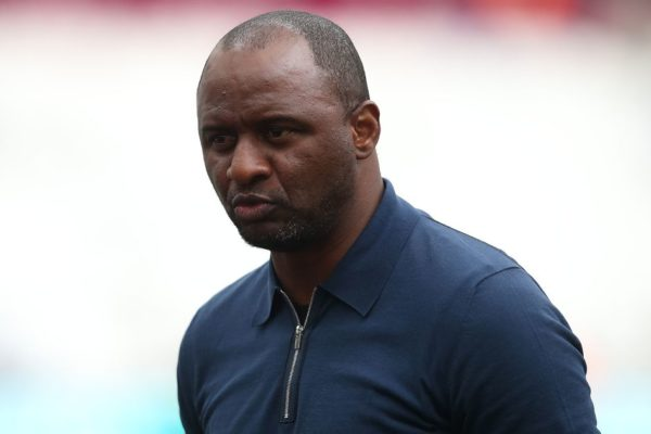 Patrick Vieira believes Arsenal vs Crystal Palace clash will be 'emotional'